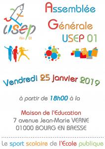 Assemblée Générale de l'USEP de l'Ain @ USEP 01